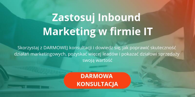 konsultacja inbound marketing w firmie IT