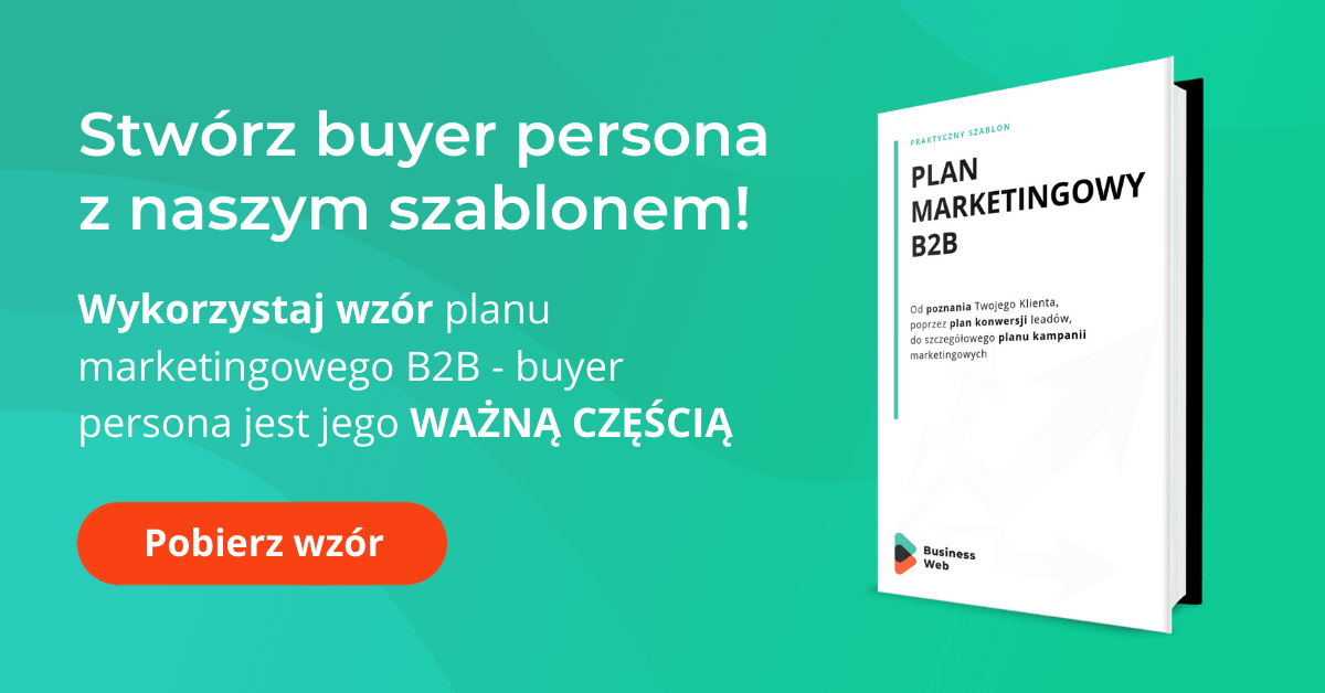szablon wzoru buyer persona pdf