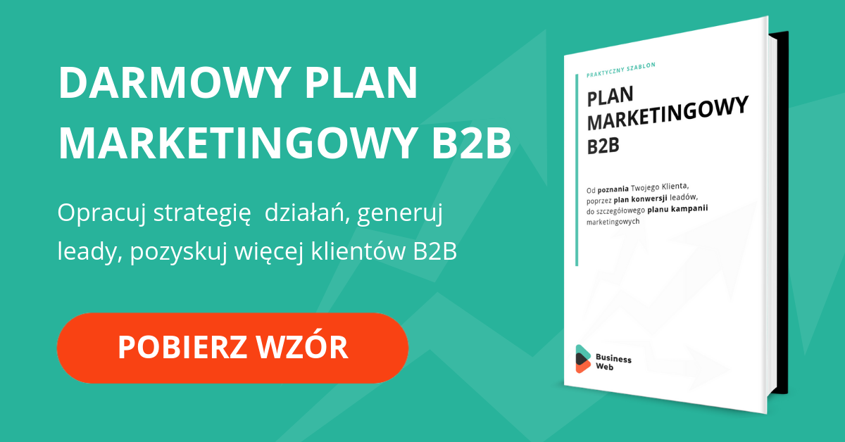 Wzór planu marketingowego B2B