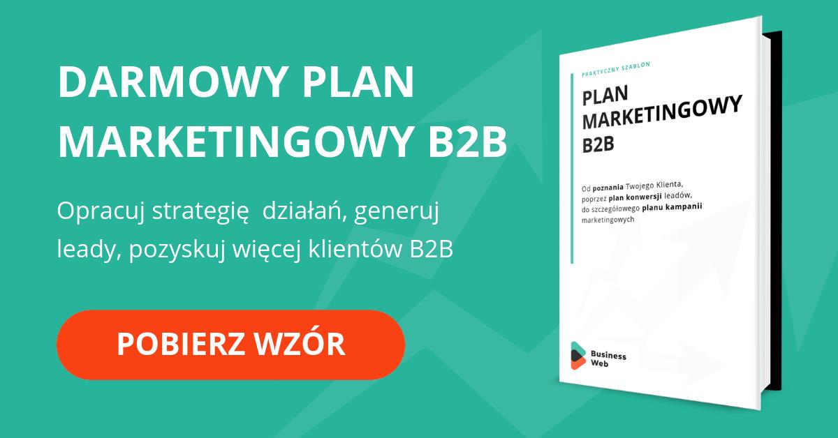 Wzór planu marketingowego B2B