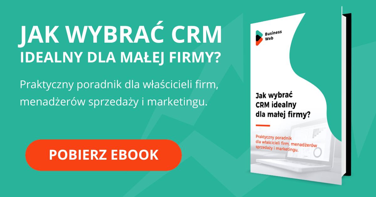 pobierz ebook jak wybrać CRM dla małej firmy