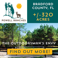 hunting land for sale in Bradford County FL