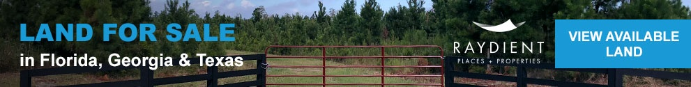 Rural land for sale in Florida