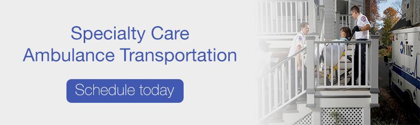 schedule SCTU ambulance transportation | On Time Ambulance NJ