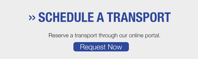 Schedule a transport with On Time