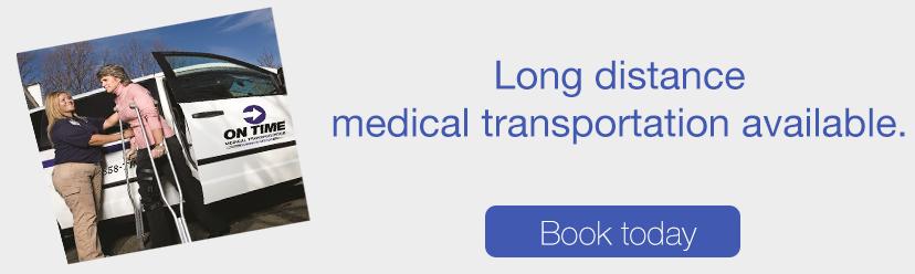 NJ Long distance medical transportation | On Time