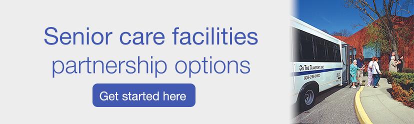 on time NJ senior care facility partnerships