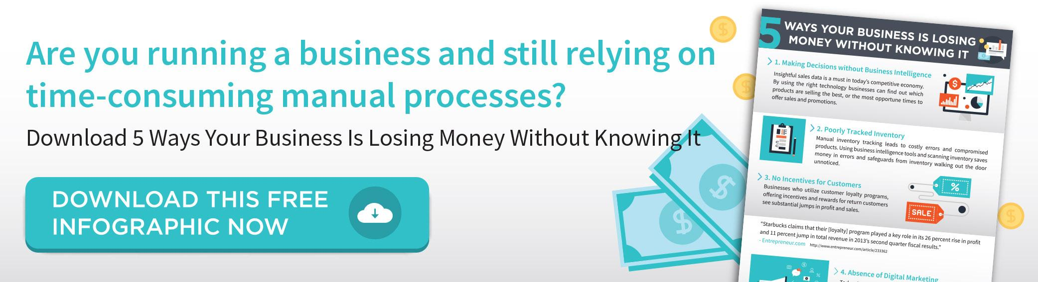 Five Ways Your Business Is Losing Money Without Knowing It