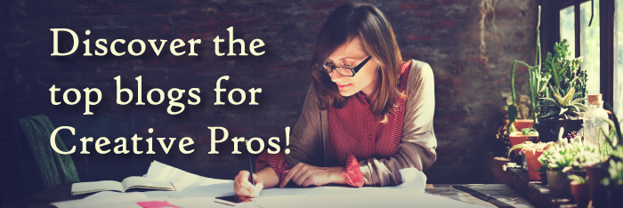 Discover the top blogs for Creative Pros!