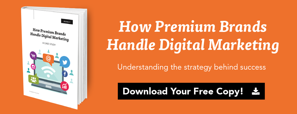 how premium brands handle digital marketing case study