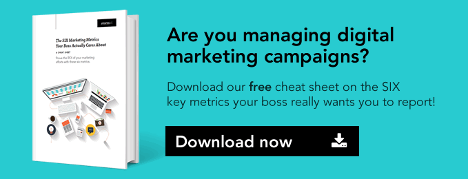 Download our FREE cheat sheet - the SIX marketing metrics you really need