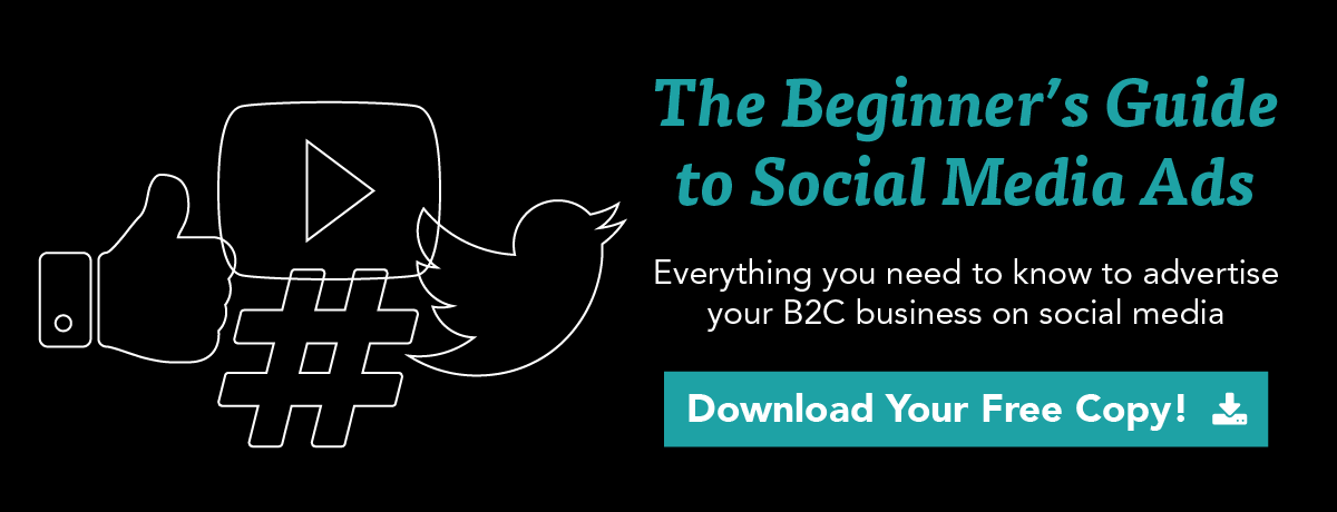 click to download the beginner's guide to social media ads