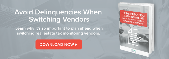 Avoid delinquencies when switching vendors