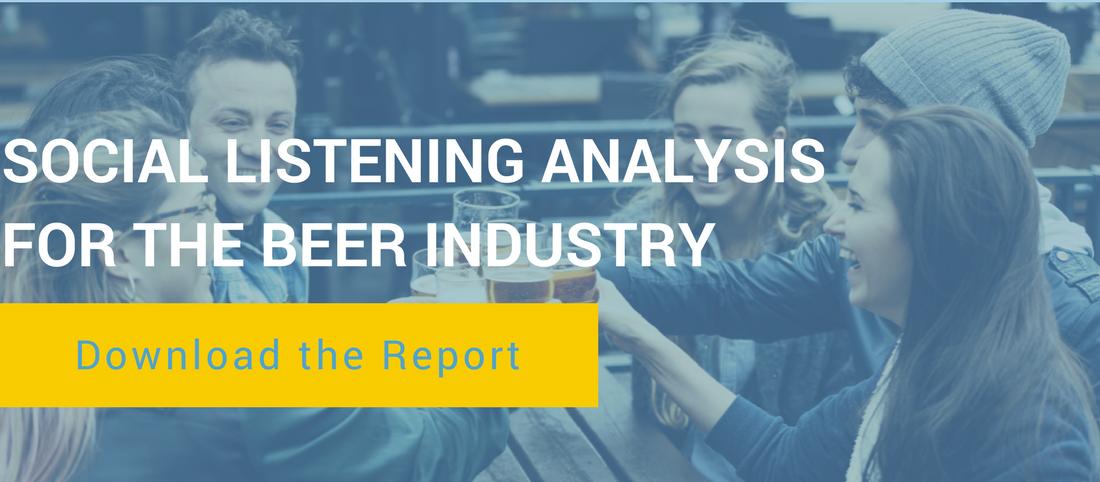 Social Listening Data For the Beer Industry