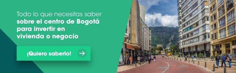 Invertir en el centro de Bogotá