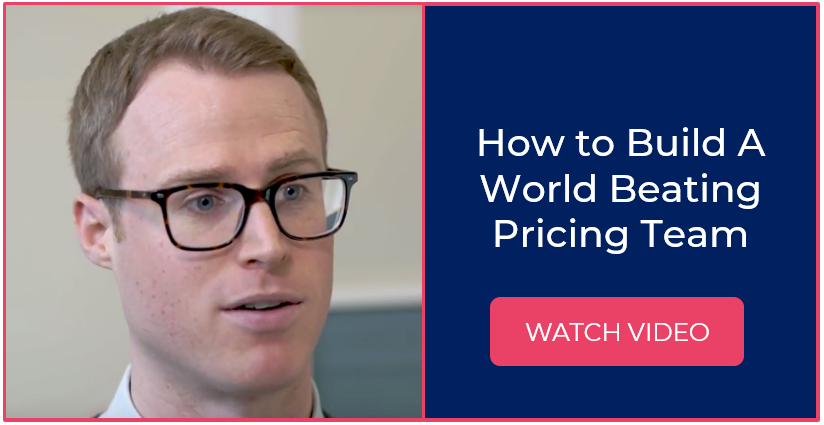 How to Build A World Beating Pricing Team - Watch Video