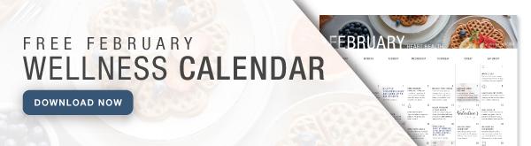 February Wellness Calendar