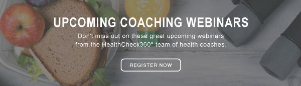 Upcoming Coaching Webinars