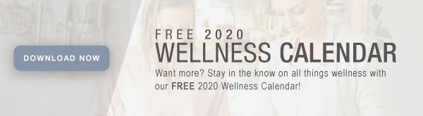 2020 Wellness Calendar