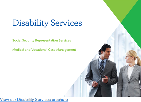 View our Disability Services brochure