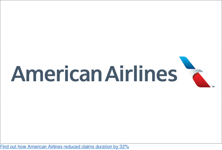 Find out how American Airlines reduced claims duration by 32%