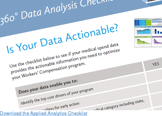Download the Applied Analytics Checklist