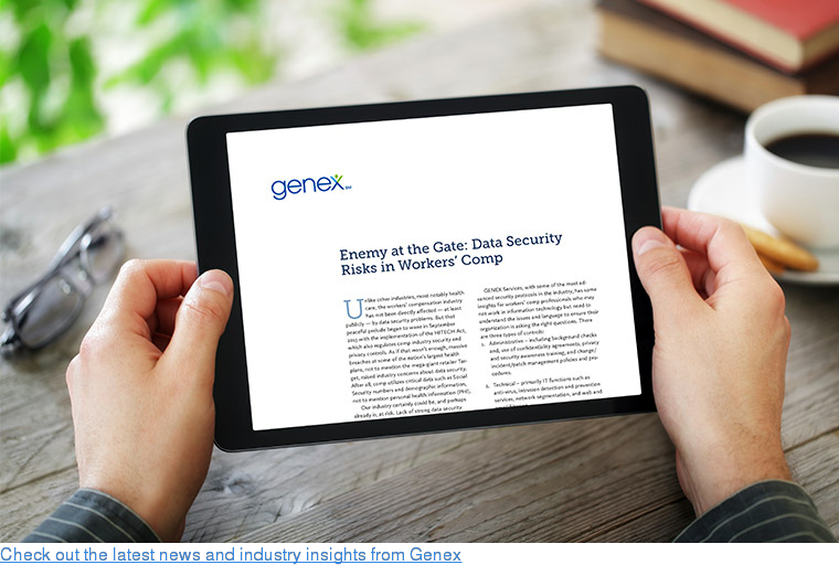 Check out the latest news and industry insights from Genex