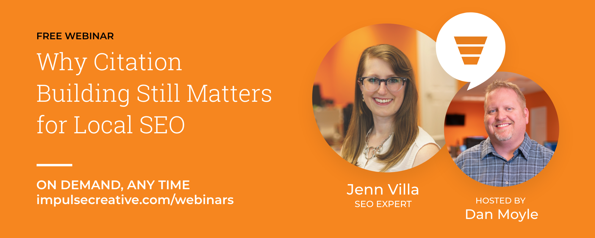 free webinar - why citation still matters for local SEO with Impulse Creative