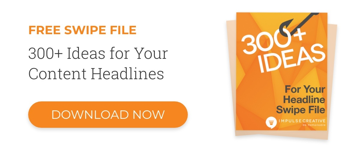 Headline Swipe Files are the Content Writer's Secret