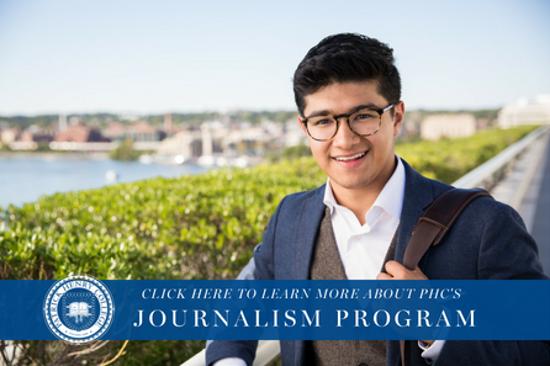 Discover PHC's journalism program!