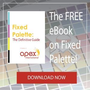 Apex Anilox Fixed Palette Flexography