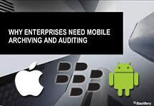 Archiving Blackberry for Enterprise Webinar
