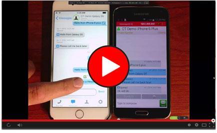 Retain Mobile CellTrust Secure Mobile messaging archiving compliance webinar video