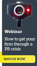 How to get your firm through a public relations crisis