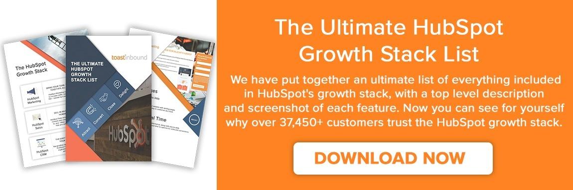 hubspot growth stack pircing