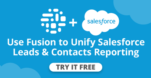 Unified Salesforce Leads-Contacts Report