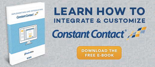 Constant Contact Integration Guide