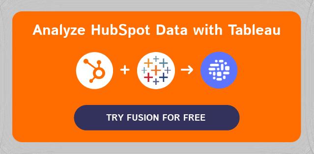 HubSpot-Tableau