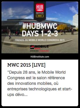Report MWC 2015