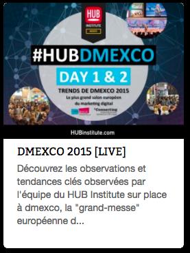 Report Dmexco 2015