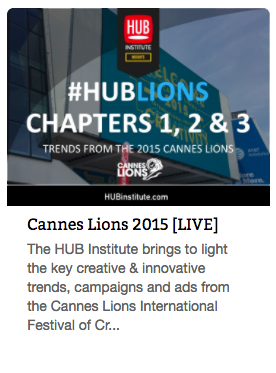 Report Cannes Lions 2015