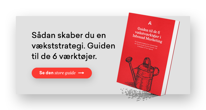 Download guide: De 6 vækstværktøjer i Inbound Marketing