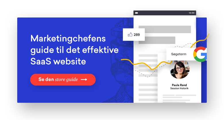 Marketingchefens guide til det effektive SaaS website