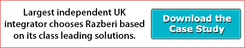 Largest Independent UK Integrator Chooses Razberi