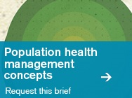 Population Health Management Concepts