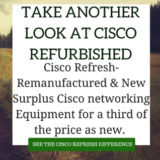 cisco refurbished
