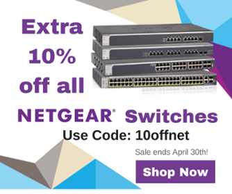 netgear switch sale