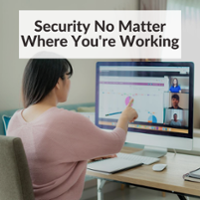 remote work security