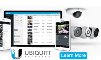 ubiquiti security cameras