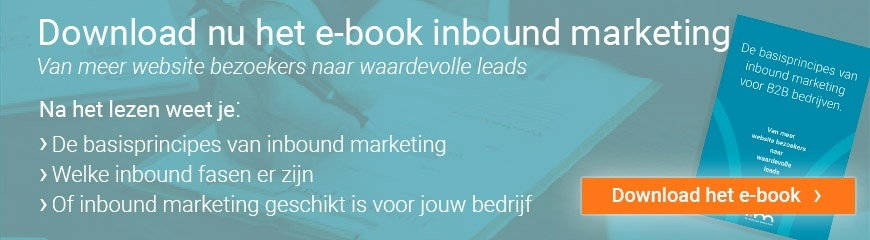 Download gratis e-book inbound marketing De basisprincipes